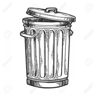 Trash Can Sketch